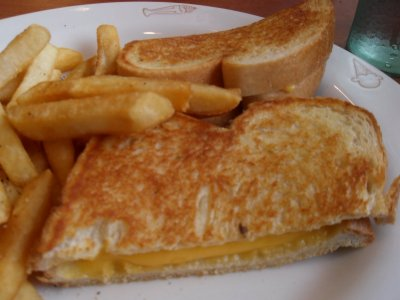 Grilled American Cheese (Kids Meal w/ 4