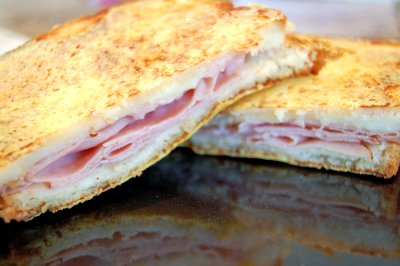 Kids Toasted Ham & Cheese Sandwich
