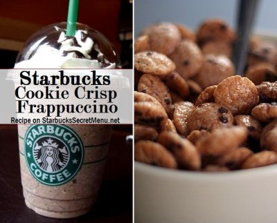 Frappuccino Cookie Straw