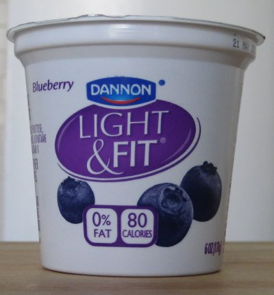 Yogurt Dannon Light & Fit