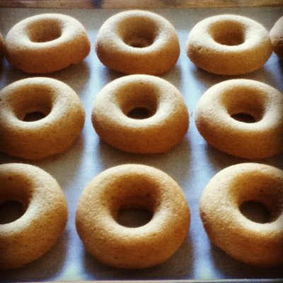 Old Fashion Plain Cake Donut