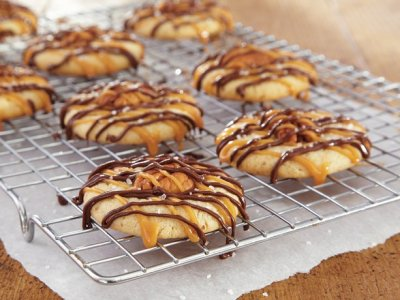 Caramel Chocolate Pecan Cookie