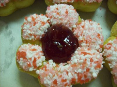 Strawberry Bloom Filled Donut