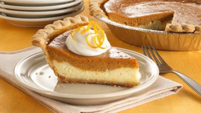 Sweet Potato and Creme Pie