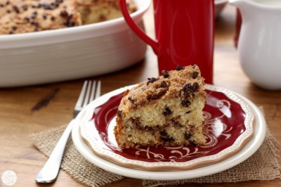 Chocolate Chip Coffee Cake Small