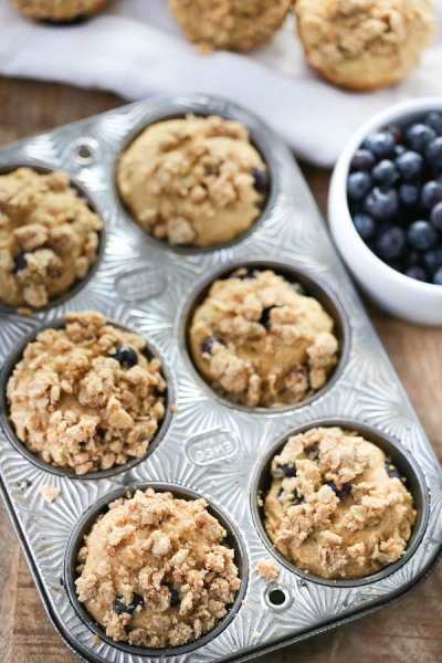 Whole Grain Blueberry Muffin