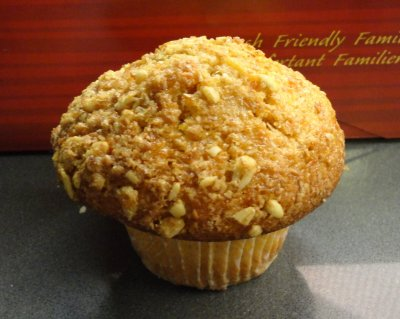 Whole Grain Carrot Orange Muffin