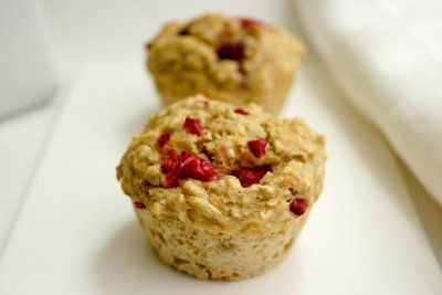 Whole Grain Raspberry Muffin