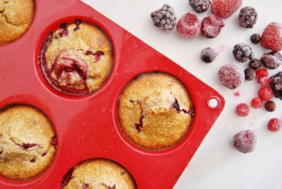 Low Fat Double Berry Muffin