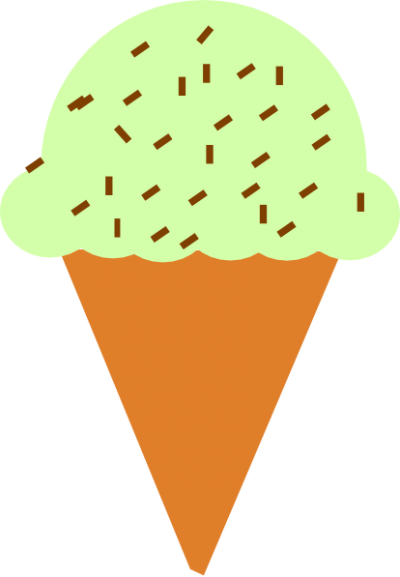 1 Scoop Chocolate Cone
