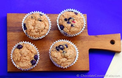 Low-Fat Berry Yogurt Muffin