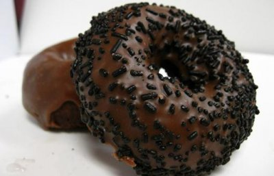 Chocolate Caramel Donut