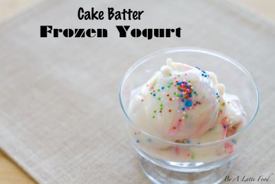 Cookie Batter Yogurt, Love It