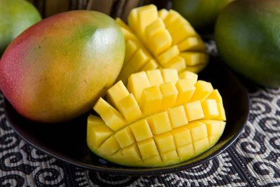 Organic, Mango, Green, Large, Includes Keitt And Francis