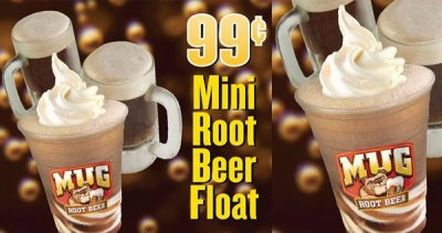 Mug Root Beer Float