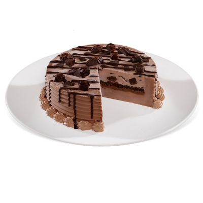 Chocolate Xtreme Blizzard Cake