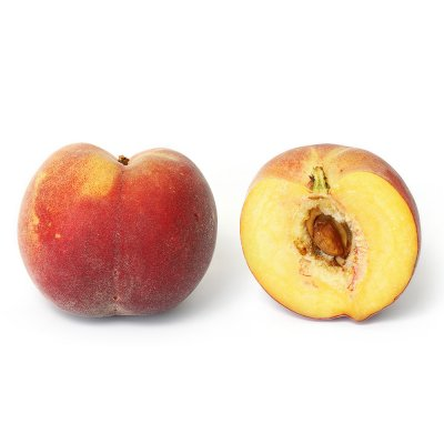 Organic, Peach, Yellow, Flesh, Large, Tree Ripened, Ready-To-Eat