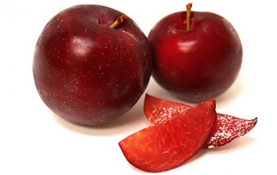 Organic, Plum, Red, Large, Includes Santa Rosa