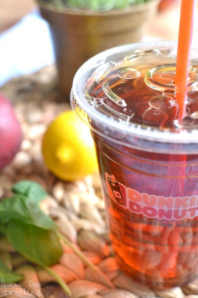 Peach Unsweetened Iced Tea