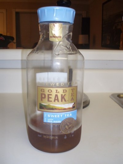 Gold Peak Unsweet Tea- Large
