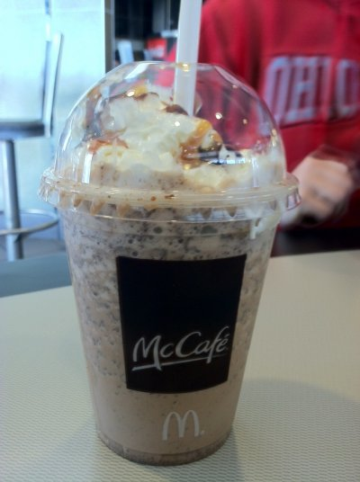 McCafe Nonfat Latte (Small)