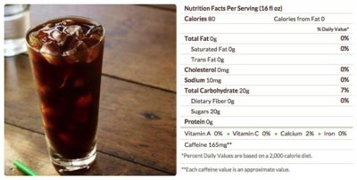 Teavana Shaken Iced Black Tea Lemonade, Unsweetened (Grande)