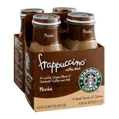 Mocha Light Frappuccino Blended Coffee, Nonfat Milk (Tall)