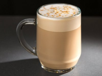 Caramelized Honey Latte, Soy Milk (Short)