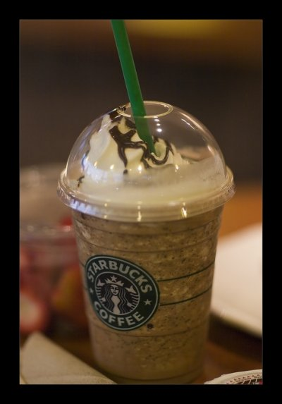 Espresso Frappuccino Blended Coffee, Coconut Milk (Mini)