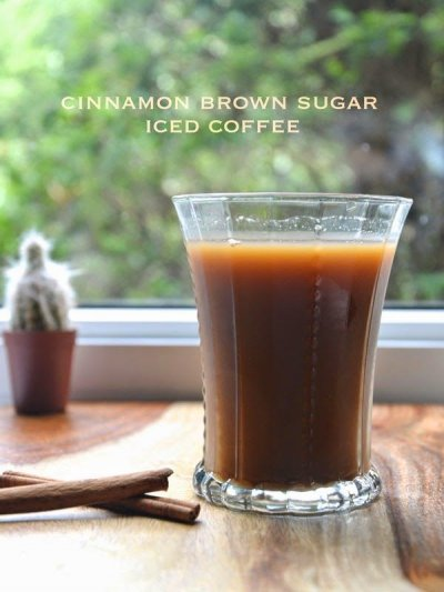 Brown Sugar Cinnamon Iced Coffee, Medium