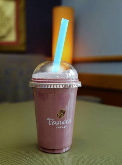 Fat Free Superfruit Power Smoothie with Ginseng