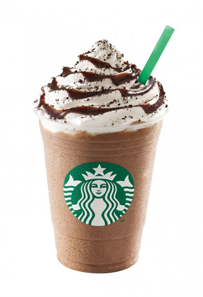 Mocha Frappuccino Blended Coffee, 2% Milk (Mini)