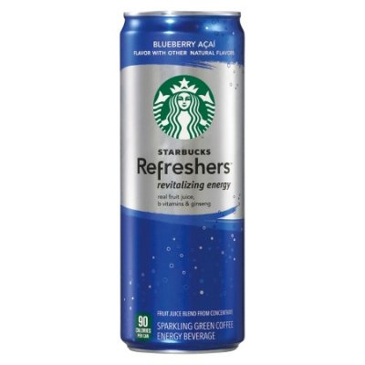 Strawberry Acai Starbucks Refreshers Beverage (Venti)