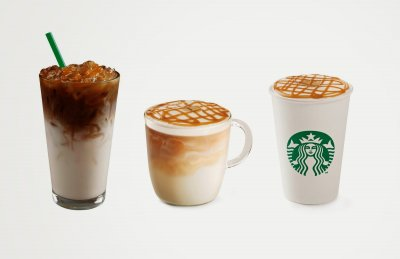 Caramel Macchiato, Whole Milk (Tall)