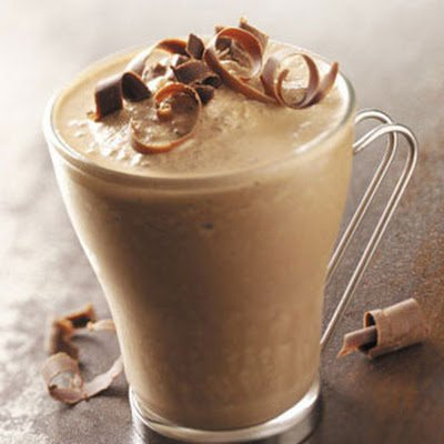 Caramel Mocha Iced Coffee with Cream, Small