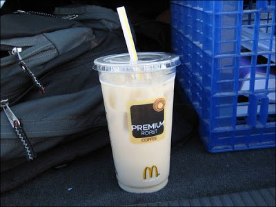 Iced Coffee-- Hazelnut (Medium)