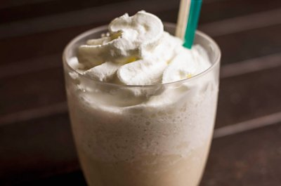 White Chocolate Mocha Frappuccino Blended Coffee, Nonfat Milk (Mini)