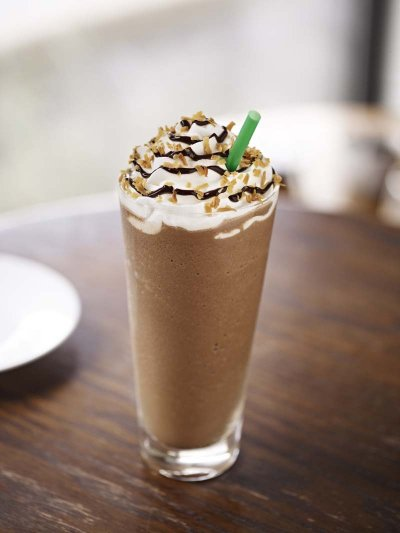 Coffee Frappuccino Blended Coffee, Nonfat Milk (Tall)