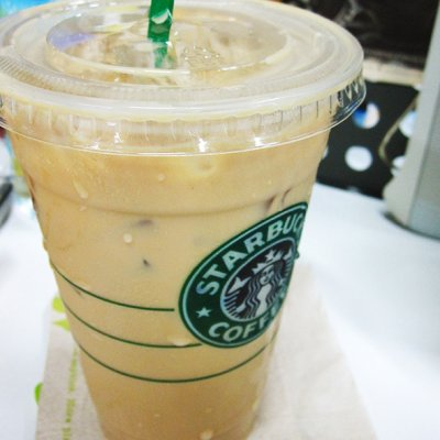Iced Hazelnut Latte w/ 2% Milk 12 oz - Espresso-Based