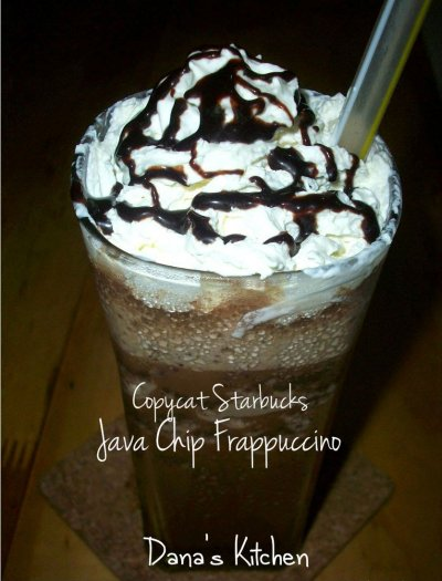 Java Chip Light Frappuccino Blended Coffee, Nonfat Milk (Grande)