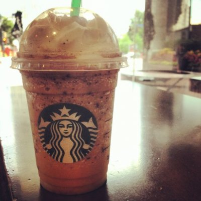 Cinnamon Dolce Frappuccino Blended Coffee, Coconut Milk (Tall)