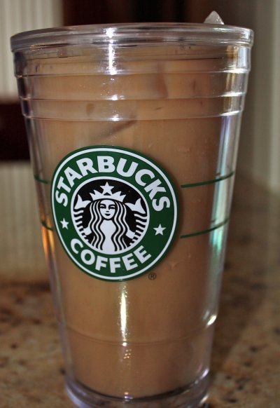 Iced Caramel Coffee,  large