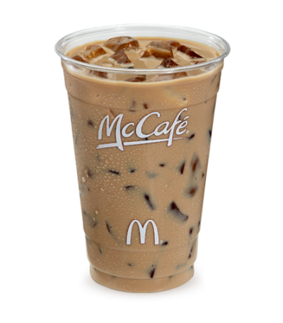 Iced Mocha Latte with milk, Small