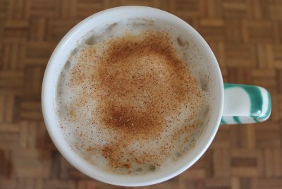 Nonfat Caramel Latte (Small)