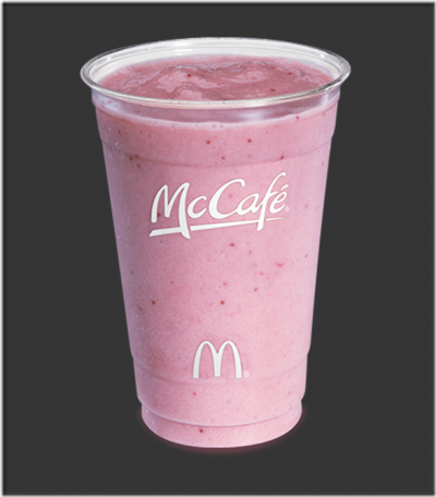 Strawberry Banana Smoothie, 12 oz