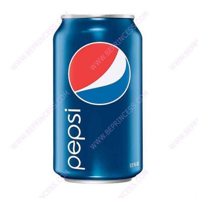 12 oz Pepsi (without ice)