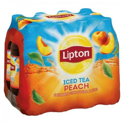 16 oz Lipton Brisk Raspberry Iced Tea (without i
