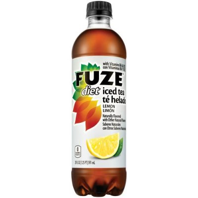 FUZE Brewed Black Tea Lemon Sweet, no ice