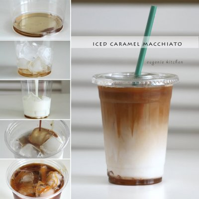 Iced Coffee-- Caramel (Large)
