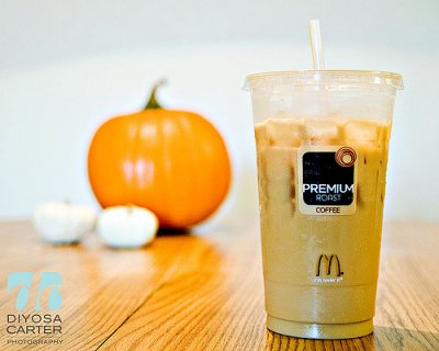 Iced Coffee-- Hazelnut (Large)